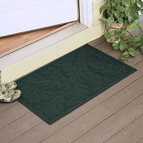 Weather Guard Brittney Leaf 23 Inch X 35 Inch Door Mat