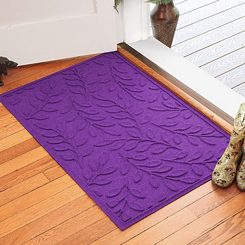 Weather Guard Brittney Leaf 30 Inch X 45 Inch Door Mat