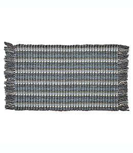 Tapete decorativo B. Smith® Silk Rib de 53.34 x 86.36 cm en azul chambray