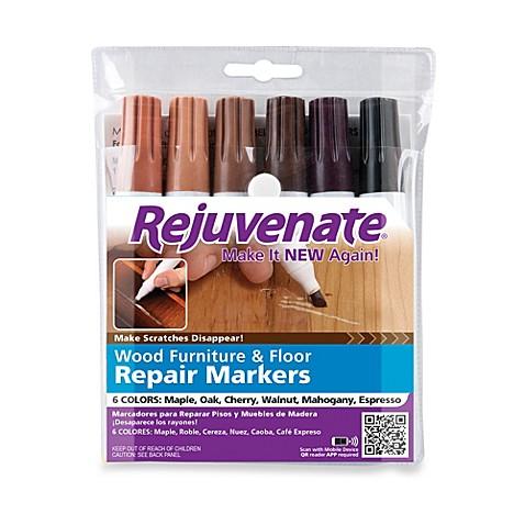 Rejuvenate® Wood Furniture & Floor Repair Markers - Bed Bath & Beyond