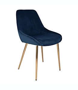 Silla de terciopelo O&O by Olivia & Oliver™ Parsons en azul