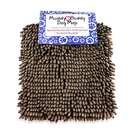 Buy Muddy Buddy Dog Mop In Chocolate From Bed Bath Amp Beyond