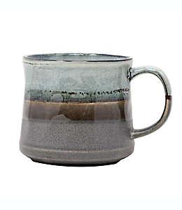 Taza para café en verde/gris