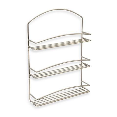 Buy Spectrum 3 Tier Euro Wall Mount Spice Rack From Bed