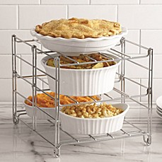 image of Real Simple® 3-Tier Adjustable Oven Rack