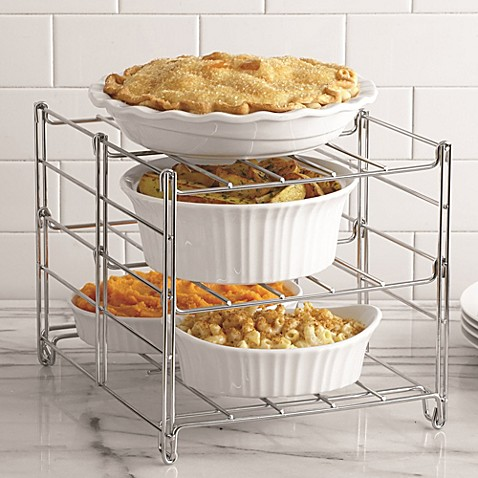 Real Simple® 3-Tier Adjustable Oven Rack - Bed Bath & Beyond