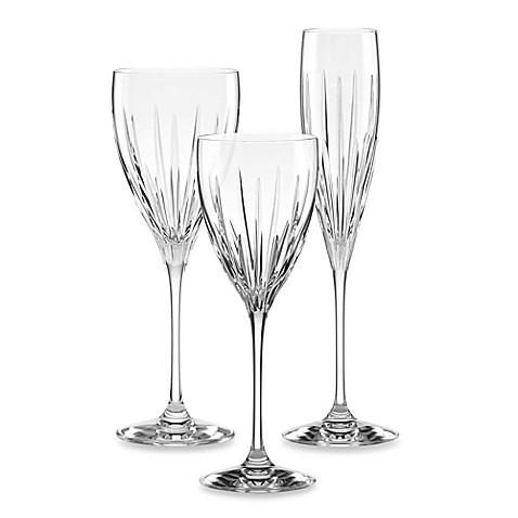 Lenox regency crystal stemware bed bath beyond - Lenox colored wine glasses ...