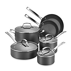 image of Circulon® Genesis™ Hard Anodized Nonstick 10-Piece Cookware Set