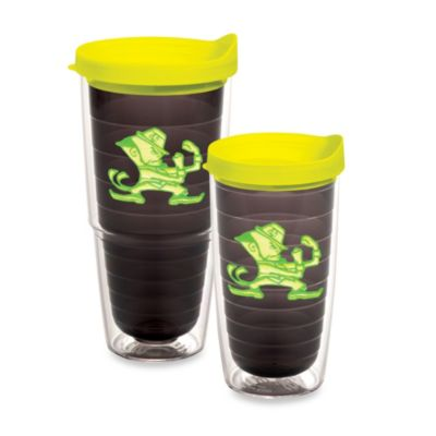 image of Tervis® University of Notre Dame Tumbler with Lid in Neon Green