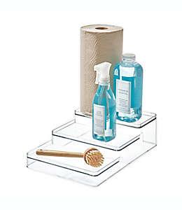 Organizador para tocador de plástico iDesign® de 3 niveles