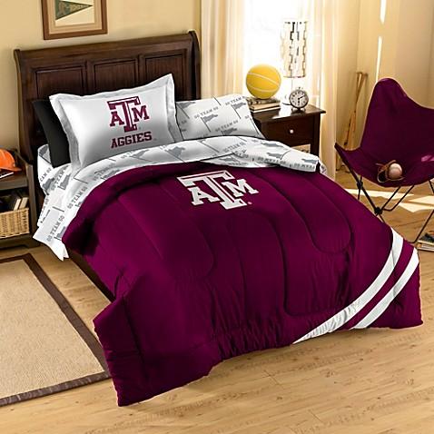 Collegiate Texas A Amp M University Complete Bed Ensemble