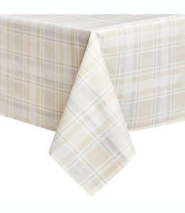 Mantel para mesa plastificado a cuadros de 3.04 x 1.52 m
