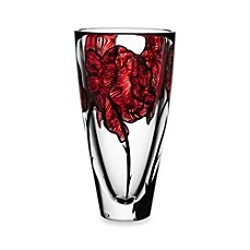 image of Kosta Boda 10-Inch Tattoo Vase