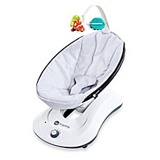 image of 4moms® rockaRoo® Classic Infant Seat in Grey