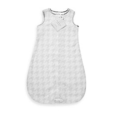 image of Swaddle Designs® Cozy zzZipMe Sack in Sterling Puppytooth