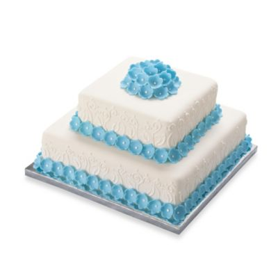 Cake Decorating Kit Bed Bath Beyond : Buy Wilton  14-Inch Square Cake Platters (Set of 2) from ...