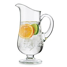 image of Dailyware™ Glass 76-Ounce Footed Pitcher