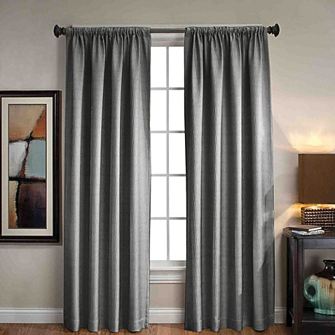 Sonoma Rod Pocket Back Tab Window Curtain Panels Bed