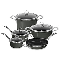 image of Chantal® Copper Fusion® 9-Piece Cookware Set in Onyx