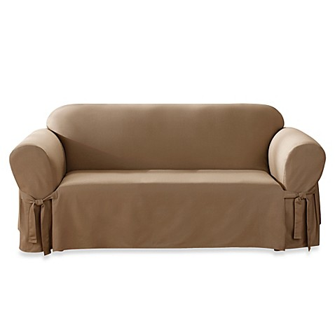 Sure Fitu0026reg; Duck Supreme Cotton Furniture Slipcovers