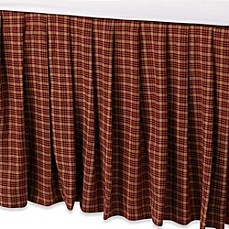 image of Donna Sharp Campfire Square Bed Skirt