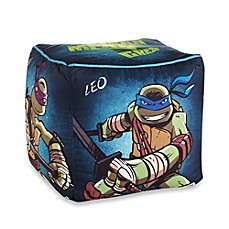 Image Of Teenage Mutant Ninja Turtles Dark Ninja Printed Pouf