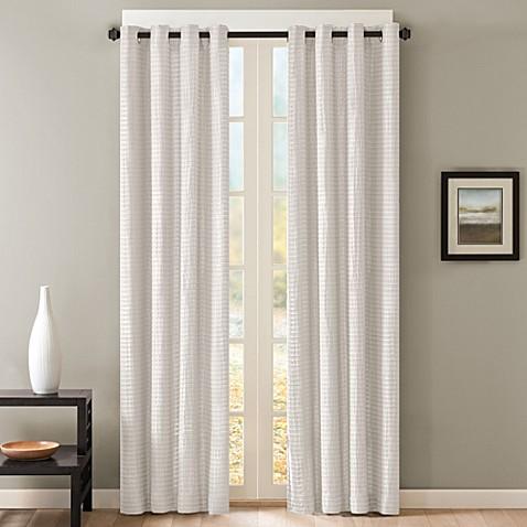 Buy Skyline Grommet 84 Inch Window Curtain Panel In White