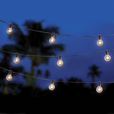 Cafe String Lights - Bed Bath & Beyond