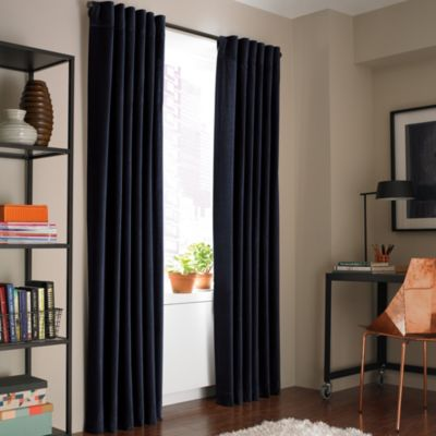 kenneth cole curtains kenneth cole reaction home soho velvet lined window 124