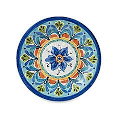 Azul Hand Painted Look 10.5-Inch Round Dinner Plate  sc 1 st  Bed Bath u0026 Beyond & Outdoor Dining Sets and Tumblers with Lid | Bed Bath u0026 Beyond