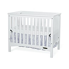 image of Child Craft™ London Euro 2-in-1 Mini Crib in White