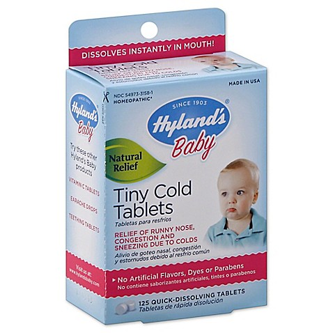 Hyland's® Baby 125-Count Tiny Cold Tablets - buybuy BABY