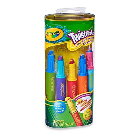 crayola play visions twistables 5 pack color swirl crayons - Crayola Bathroom Crayons
