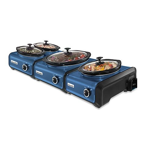 Crock Potu0026reg; Hook Upu0026trade; Connectable Entertaining System In Metallic  Blue
