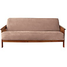 image of Sure Fit® Soft Suede Futon Slipcover