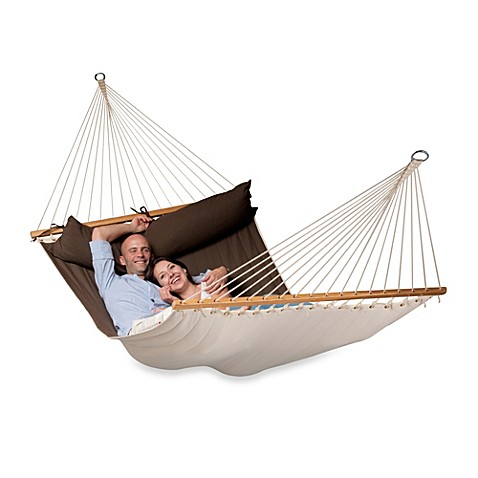 Coolaroo Double Person Hammock With Bar Bed Bath Amp Beyond