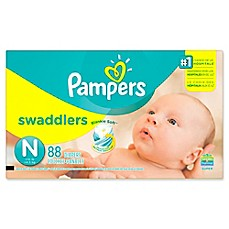 image of Pampers® Swaddlers™ 88-Count Size 0 Super Pack Diapers