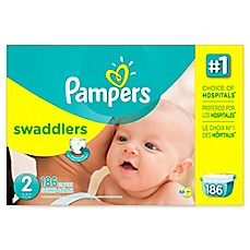 image of Pampers® Swaddlers™ 186-Count Size 2 Diapers