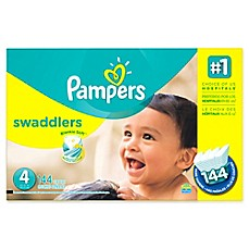 image of Pampers® Swaddlers™ 144-Count Size 4 Economy Pack Plus Diapers