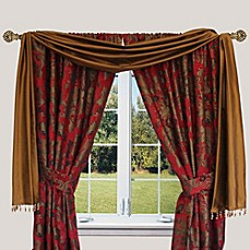 image of Austin Horn Classics Verona Window Curtain Panel and Valance
