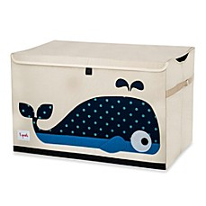 image of 3 Sprouts Toy Chest in Whale