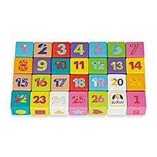 image of Boikido 28-Piece Wooden ABC Cubes