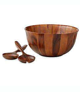 Ensaladera de madera de acacia B. Smith®, Set de 3 piezas