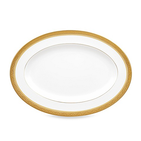 Noritake® Summit Gold 14-Inch Oval Platter