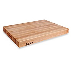 image of John Boos 24-Inch x 18-Inch Reversible Edge Maple Cutting Board
