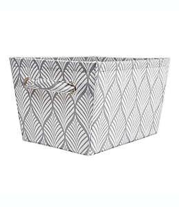 Cubo de almacenamiento E-Z Do mediano en gris