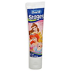 image of Oral-B® Stages Princess 4.2 oz. Toothpaste in Bubble Gum Flavor