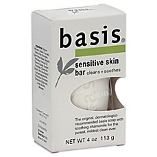 image of Basis 4-Ounce Sensitive Skin Bar