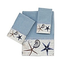 image of Avanti Antigua Blue Fog Bath Towel Collection