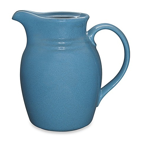 buy noritake colorvara 72 ounce pitcher in blue from bed bath beyond. Black Bedroom Furniture Sets. Home Design Ideas